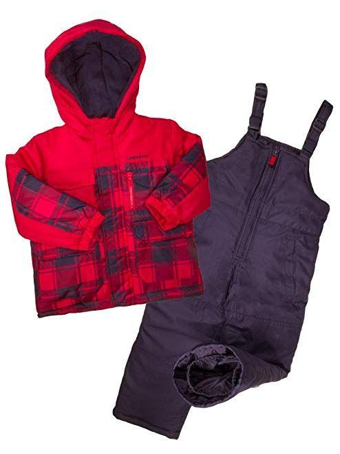4ff0ba038113 London Fog Boys 2-Piece Plaid Snowsuit Review