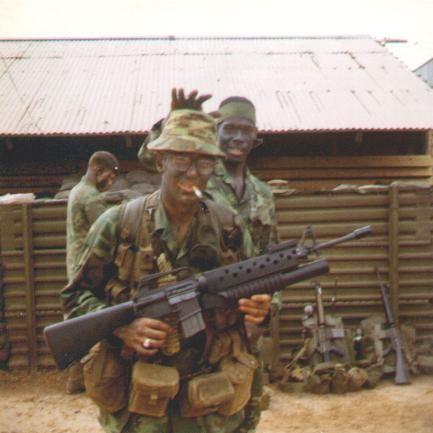 VIETNAM WAR US MILITARY 40MM DUMMY GRENADE  | logudebsvan ml