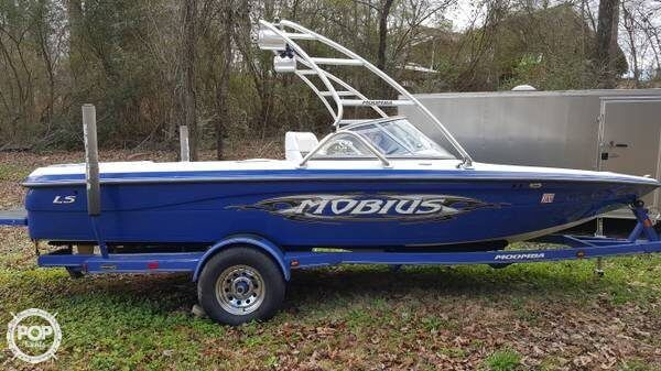 Very well kept wake boat with low hours!