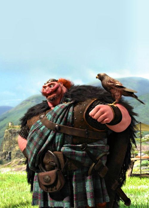 "King Fergus (Billy Connolly) from ""Brave"" (2012)"