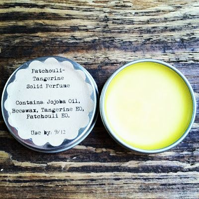 """I will be making this solid perfume shortly. Wanted to share the site because there are other great """"recipes"""" for DIY beauty products..."""