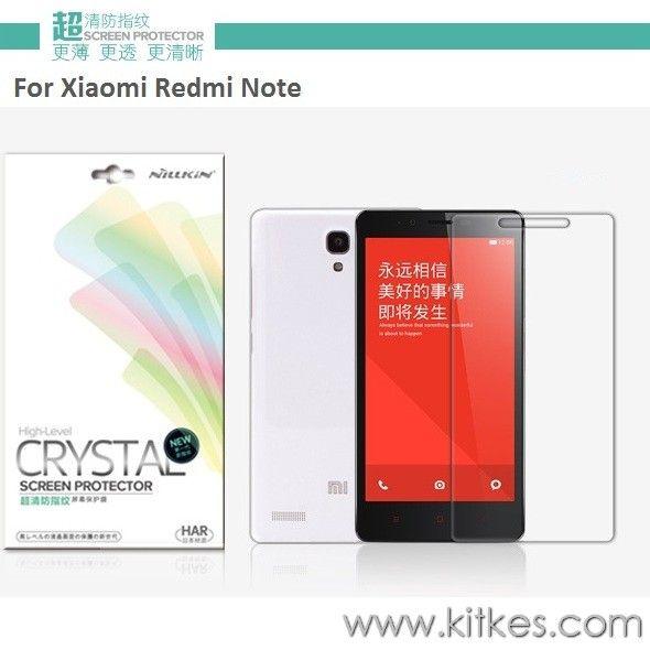 Nillkin Crystal Clear Screen Guard Xiaomi Redmi Note - Rp 50.000 - kitkes.com