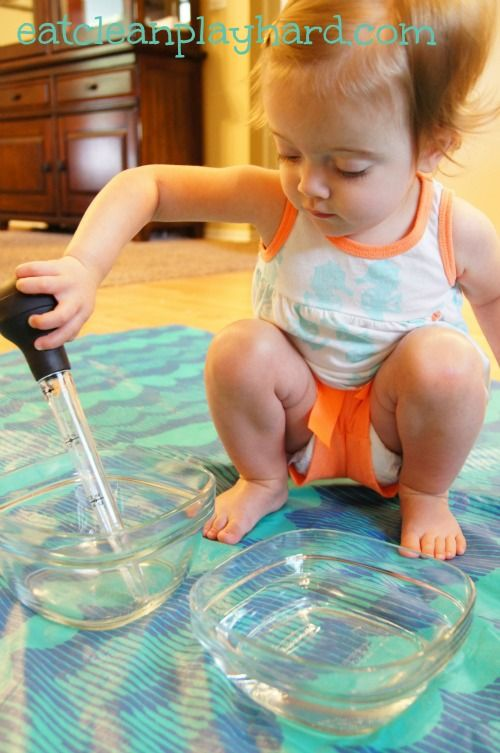 Basting Water Fine Motor Activities for toddlers