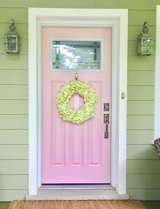 A Pink Front Door Who Would Ve Thought