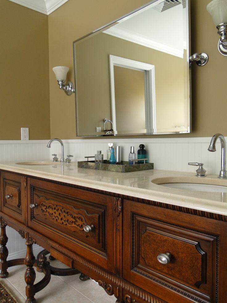 10 ideas about double sink vanity on pinterest double - Bathroom double sink vanity ideas ...