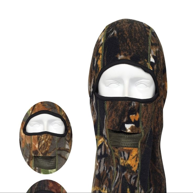 Qing Longlin Camouflage Mask Hunting Hat Winter Hunting Bionic Protective Headgear Outdoor Masked Cap RZ-G 08