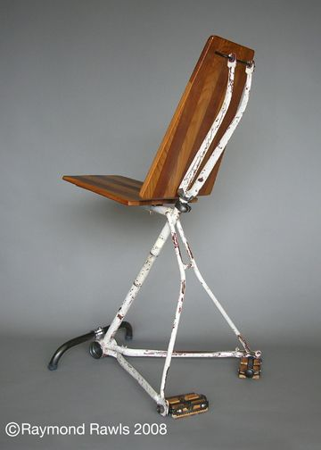 bike frame chair