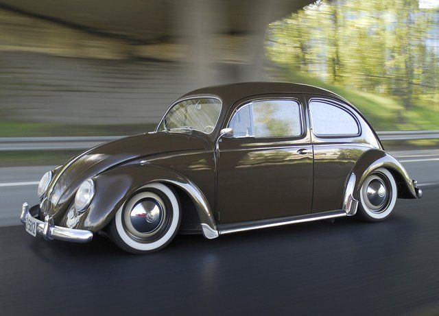 54' VW Oval Beetle. Some bugs look like trash. this one looks pretty sweet.