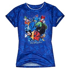 2012 Sublimated Walt Disney World Resort Tee for Adults, cute!