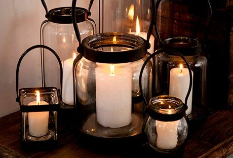 Create ambiance with these lanterns
