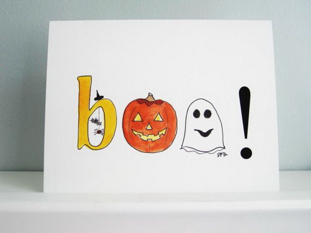 homemade halloween cards for kids - Handmade Halloween Cards Pinterest