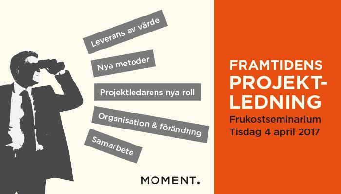 Advert. Project management seminar.