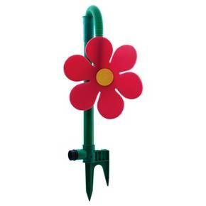 Daisy, the Dancing Flower keeps kids entertained for hours. Simply attach the grow with me Daisy to any standard garden hose, turn on the water and watch the Daisy dance. The shower spray pattern sprays and dances like crazy. Kids try to catch the foam flower as it dances about. This sprinkler is great for keeping cool on a hot summer day or as a whimsical indirect sprinkler for your garden. The heavy duty foam flower with dual spike base lasts season-after-season. #gardenhoses