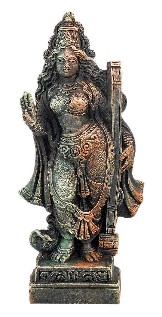 Goddess Saraswati (Terracotta)