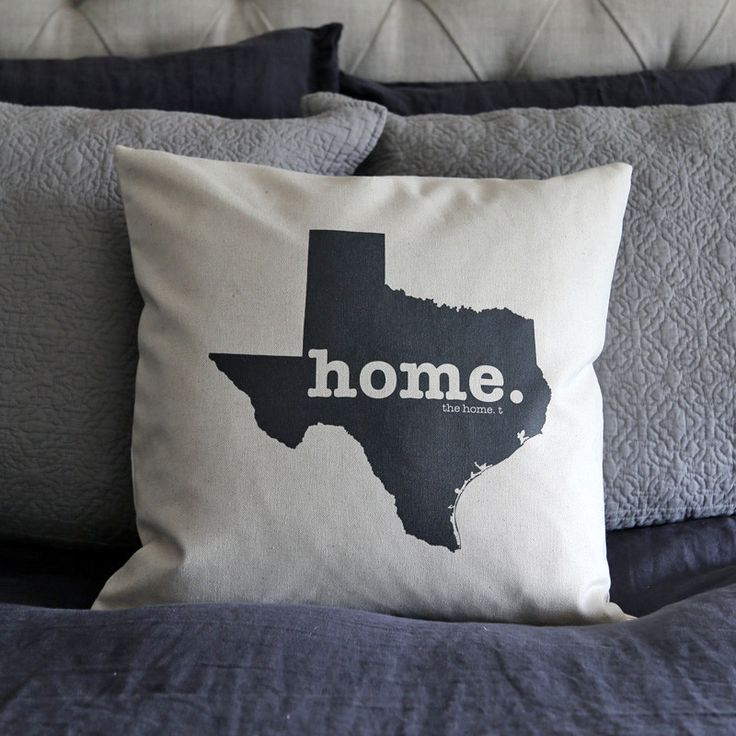 The Texas Home Pillow Cover is the perfect way to show off your state pride in your home, while also helping to raise money for multiple sclerosis research.This elegant 18 x 18 pillow cover is made out of a high-quality oatmeal linen fabric that is extremely versatile. You