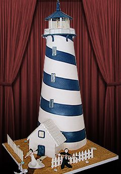 Lighthouse Cake by Adelaides Cakes