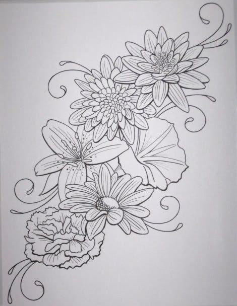 Flower_Tattoo_by_DanielleHope.jpg Photo: This Photo was uploaded by mutenation. Find other Flower_Tattoo_by_DanielleHope.jpg pictures and photos or uplo...
