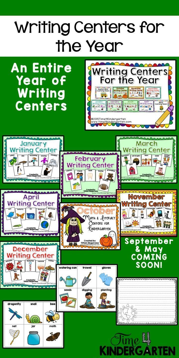 Writing Centers for the year.  includes vocabulary cards and many different stationary styles.  Great for beginning writers and ELD students.
