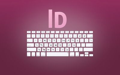 Adobe InDesign keyboard shortcuts wallpaper