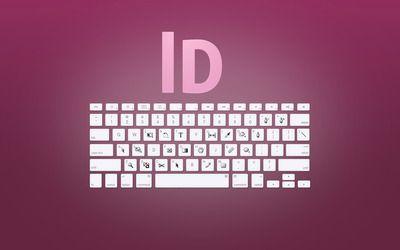 Adobe InDesign keyboard shortcuts wallpaper