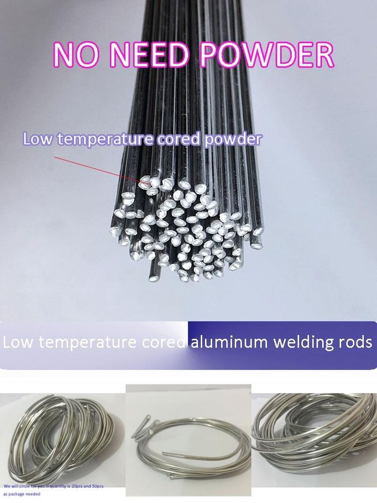 [Visit to Buy] Low temperature cored aluminum welding rods wire No need aluminum powder Instead of WE53 copper and aluminum rod 2mm*50cm #Advertisement