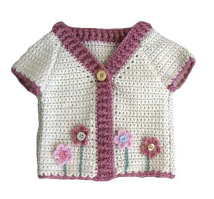 Crochet Flower Cardigan Pattern : 17 Best images about Crochet - Gardens ! on Pinterest ...