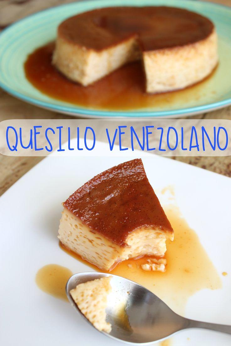 Receta de Quesillo Venezolano Tradicional