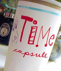 Back To School Time Capsule - MollyMoo - crafts for kids and their parents