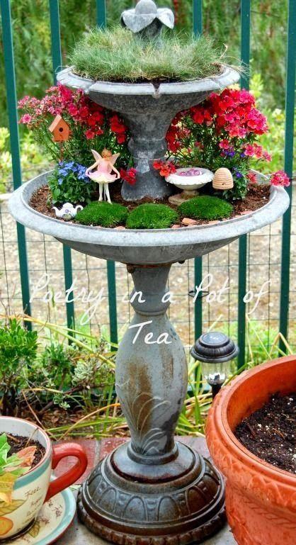 Fairy Garden Broken Pot Style A Collection Of Ideas To