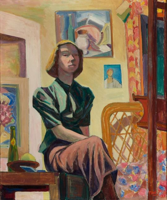 Self Portrait  - Tove Jansson 1937  Finnish, 1914–2001