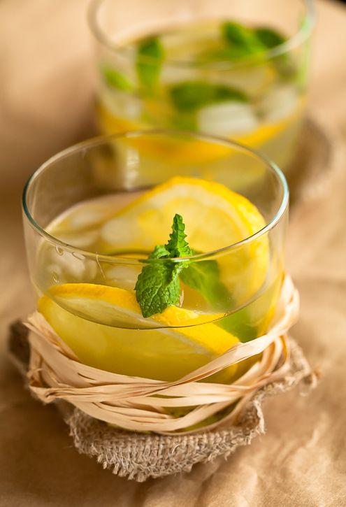 Honey Ginger Lemonade A refreshing slightly spicy lemonade For the ...