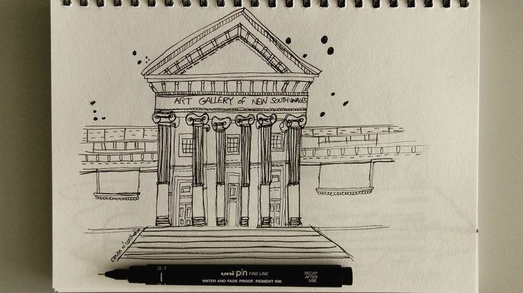 Using Uni Pin Fine Line Pen to draw the Art Gallery Of New South Wales Watch this video online on Design N' Construction Youtube channel (Link In Profile) P.S. We are off to Bali in few hoursHead down to my second instagram account for more photos @carolyn_dnc (Love you all)  #artgallery#artgalleryofnewsouthwales#pendrawing#sydney#buildingsketch#sketchtutorial#buildingsketch#drawingtutorial#learnsketching#beginnersdrawing#howtodraw#design#designnconstruction