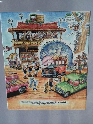 Ettamogah Pub - By Australian cartoonist Ken Maynard