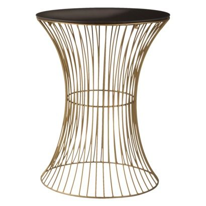 Amazing accent table from Target! Saw this in person and was seriously tempted.