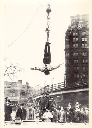 202 best Harry Houdini images on Pinterest | Occult, Famous people ...