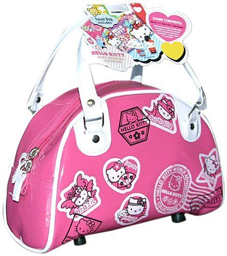 Upper Deck Sanrio Hello Ktty World Adventures Travel Bag with Album and Two Collectipaks by Upper Deck. $11.95