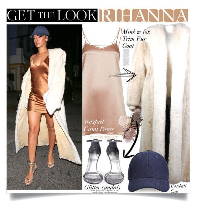 """GET THE LOOK : Rihanna"" by cookienguyen ❤ liked on Polyvore featuring Mode, Oscar de la Renta, Motel, Stuart Weitzman, Whistles, women's clothing, women, female, woman und misses"