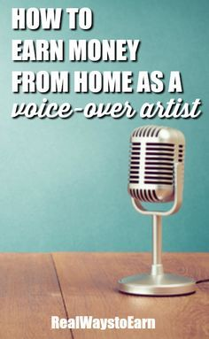 Have you ever wanted to do voice over work from home? Voices.com is a major company with thousands of home-based voice over talent accepting jobs daily.  via @Real Ways to Earn | Work From Home + Blogging Tips + Home Business + Earn Extra Cash