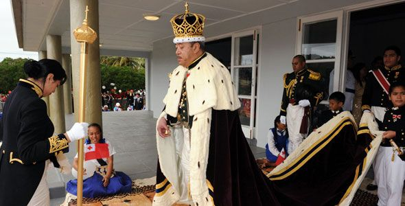 King of Tonga passes away