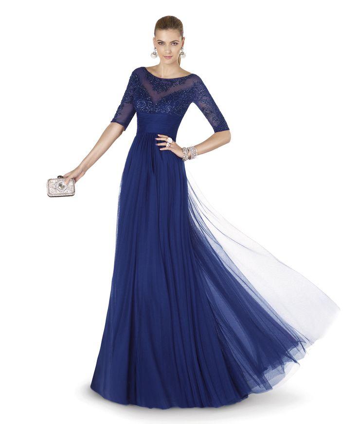 Pronovias te presenta su vestido de fiesta AGORA de la colección Fiesta 2015. | Pronovias Boda