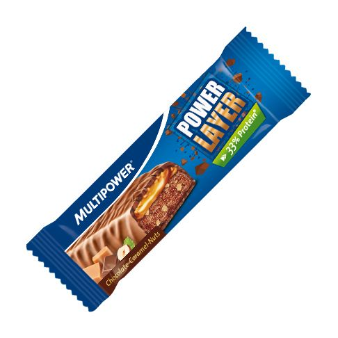 Magazin sportiv online | Suplimente pentru sportivi | Bandaje elastice Copoly | Benzi adezive | Banda kinesiologica. baton power layer cu ciocolata caramel alune,
