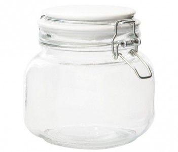 jar with porcelain lid large:95-R57 =3.2gbp medium:90-R54=3gbp