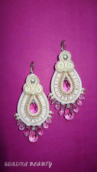 .. #soutache - earrings :)