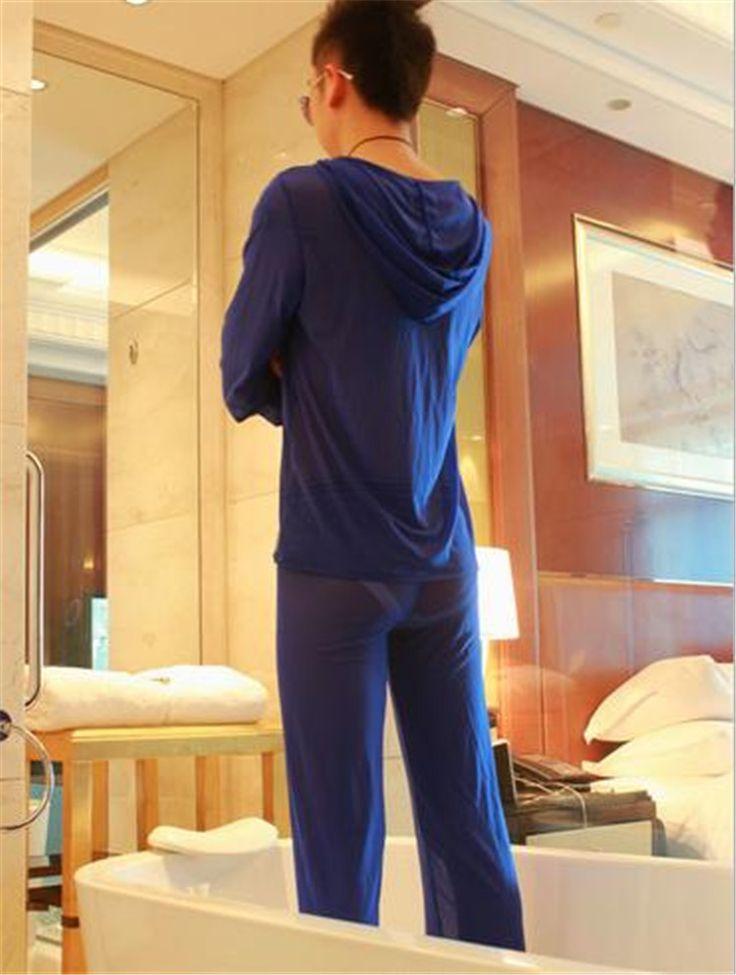 lounge pajama set,long sleeve top and pants/ blue
