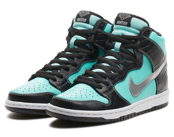 Diamond Supply Co. x Nike SB Dunk High Premium   Diamond | NikeStore Release Info