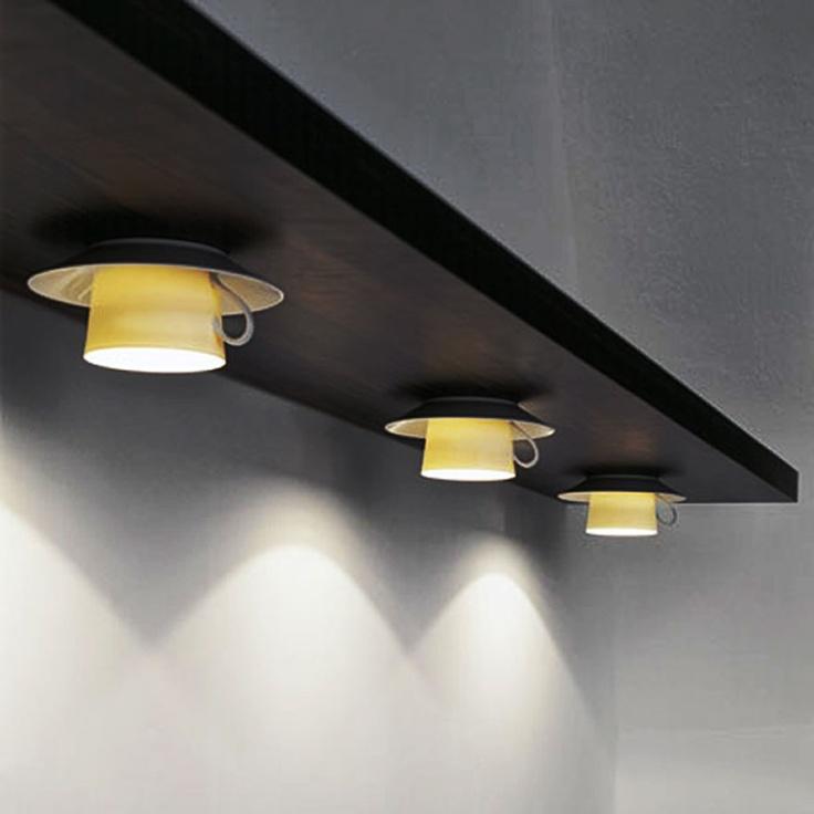 Кухонные светильники в форме кофейных чашек