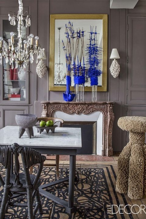 This Eclectic French Duplex Apartment Is Like An Interactive Art Museum1550 best Home Interiors images on Pinterest   House interiors  . Home Interiors In. Home Design Ideas