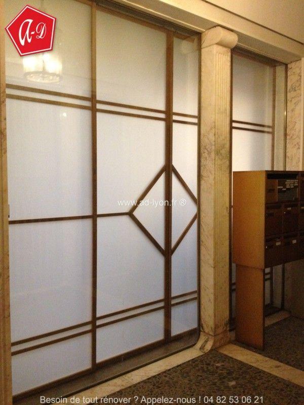 Les 193 meilleures images du tableau cloison japonaise coulissante et porte sur pinterest - Porte coulissante dans cloison ...