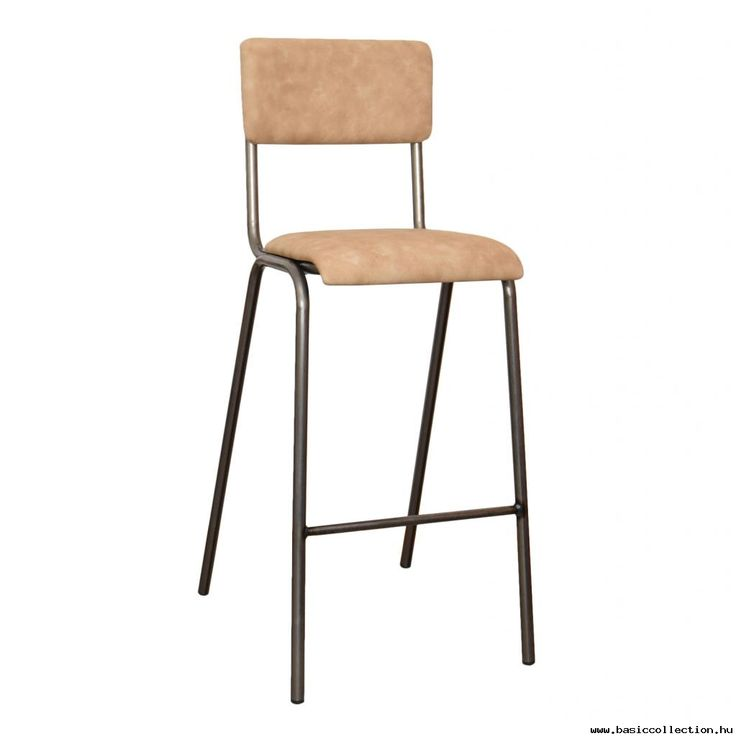 Scola b barstool  #basiccollection #barstool #metal #upholstered #wooden #retro