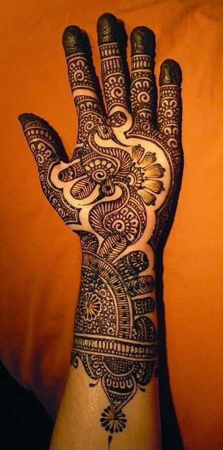 35 Beautiful Mehndi Designs (Henna Hand Art) - HitFull.com
